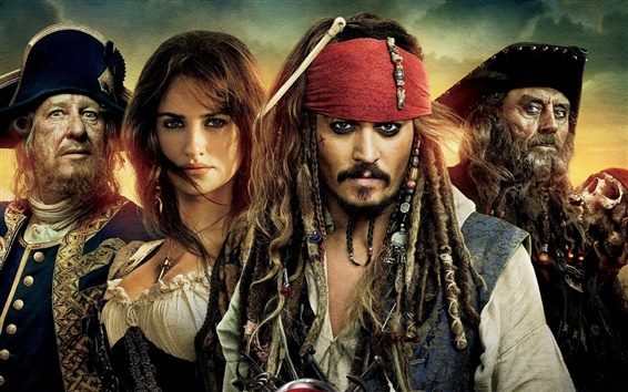 Wallpaper 2011 Pirates of the Caribbean 4