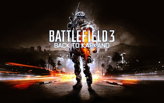 Wallpaper Battlefield 3: Back to Karkand