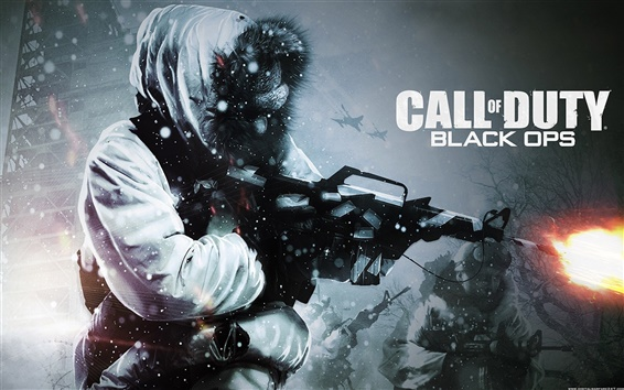 Wallpaper Call of Duty Black Ops