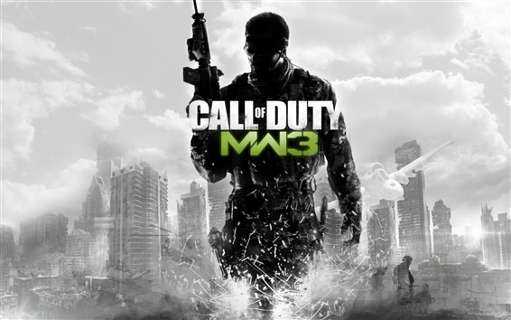 Wallpaper Call of Duty: MW3