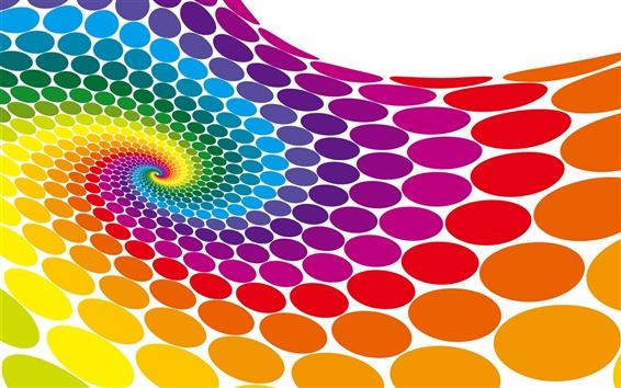 Обои Красочный круг вектор