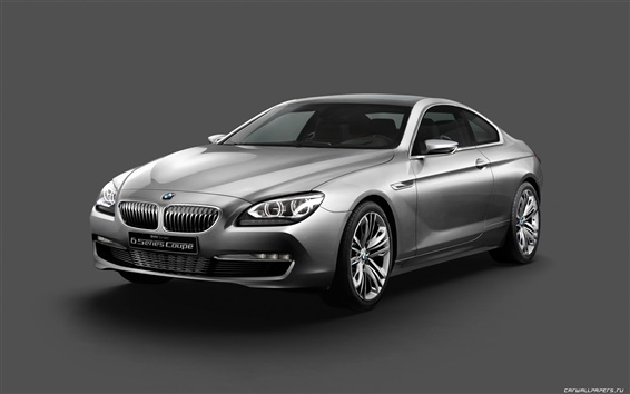Wallpaper Concept Car BMW 6 Series Coupe 2010