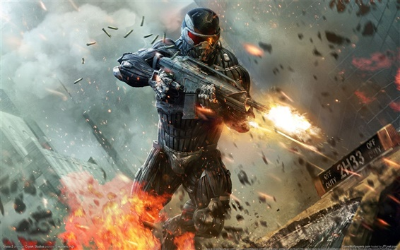 Wallpaper Crysis 2 HD 01