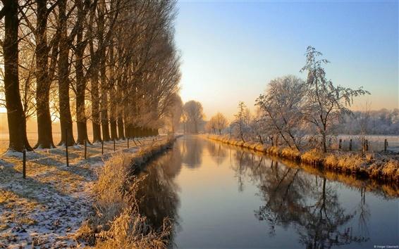 壁紙 ドイツでダニエルズ川