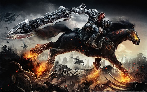 Wallpaper Darksiders Wrath of War