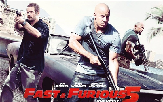 Wallpaper Fast and Furious 2011