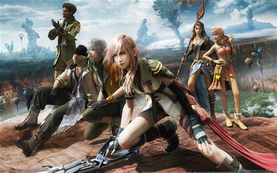 Wallpaper Final Fantasy 13