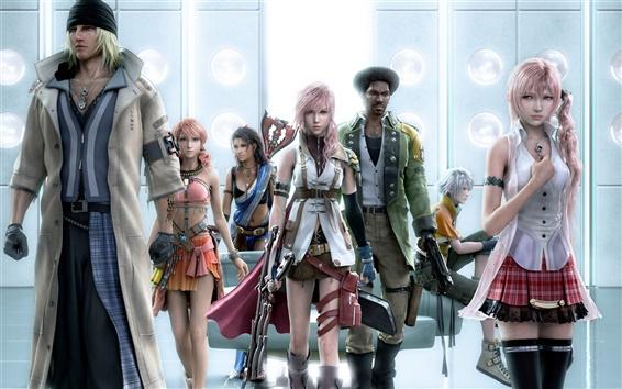 Wallpaper Final Fantasy XIII HD