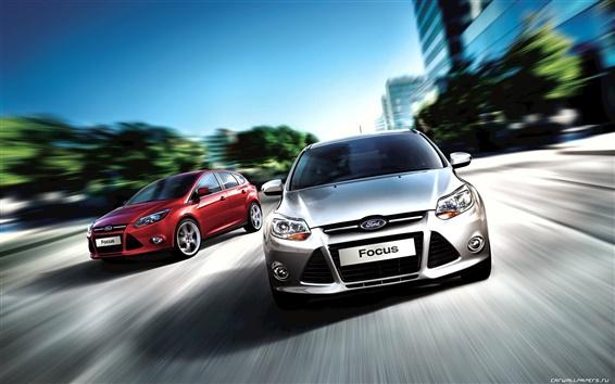 Обои Ford Focus Седан 2011