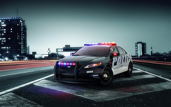 Wallpaper Ford Police Interceptor Concept