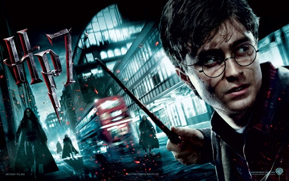 Wallpaper Harry Potter and the Deathly Hallows: Part II