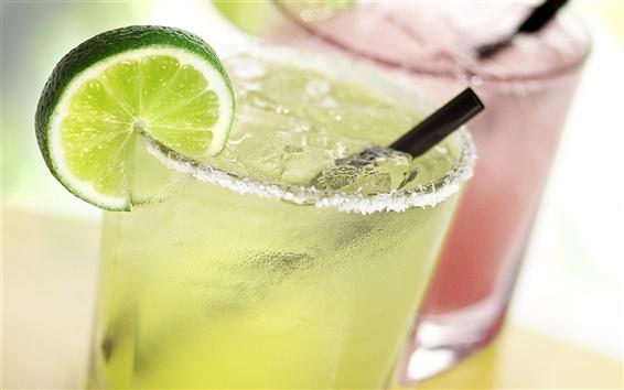 Wallpaper Ice in drinks