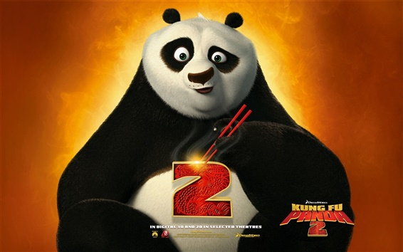Wallpaper Kung Fu Panda 2