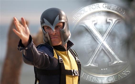 Обои Магнето в X-Men: First Class