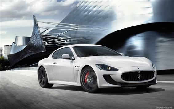 Hintergrundbilder Maserati GranTurismo MC Stradale 2010