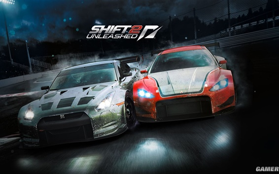Fond d'écran Need For Speed: Shift 2 Unleashed