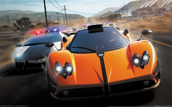 Fondos de pantalla Need for Speed​​: Hot Pursuit HD