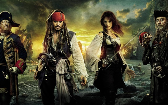 Wallpaper Pirates of the Caribbean On Stranger Tides HD