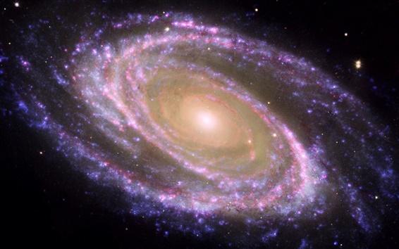 Обои Фиолетовый звезда туманности Хаббла