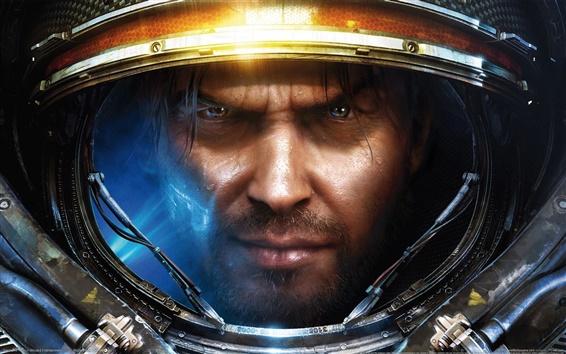 Fond d'écran StarCraft II de l'homme