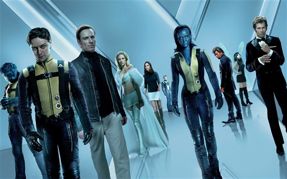 Обои X-Men: First Class