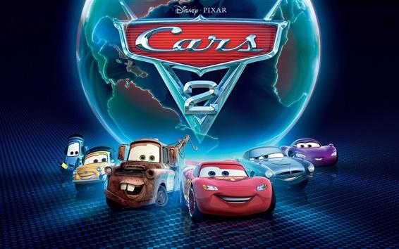 Fond d'écran 2011 Cars 2