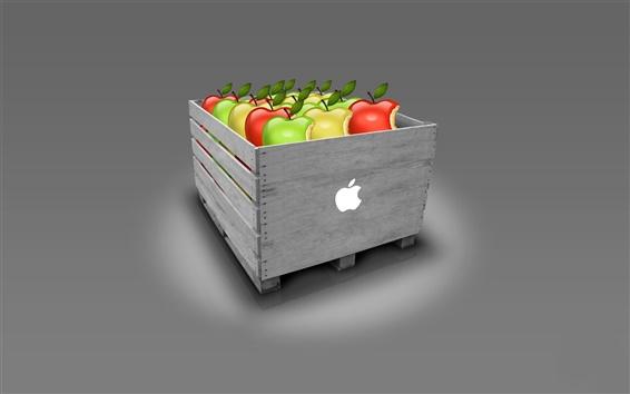 Papéis de Parede Caixa da Apple