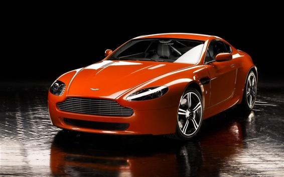 Fond d'écran Aston V8 Vantage voiture