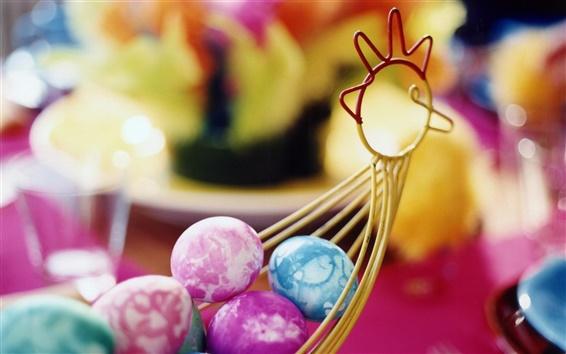 Wallpaper Beautiful Easter Eggs