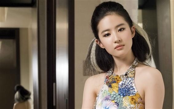Wallpaper Beauty Liu Yifei