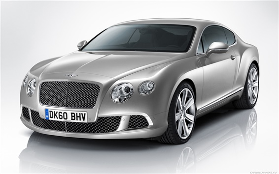 Обои Bentley Continental GT 2010