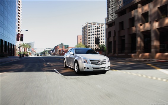 Wallpaper Cadillac CTS 2011