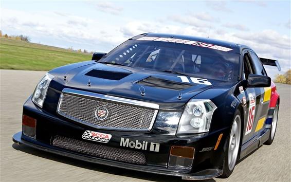 Wallpaper Cadillac CTS-V Race Car