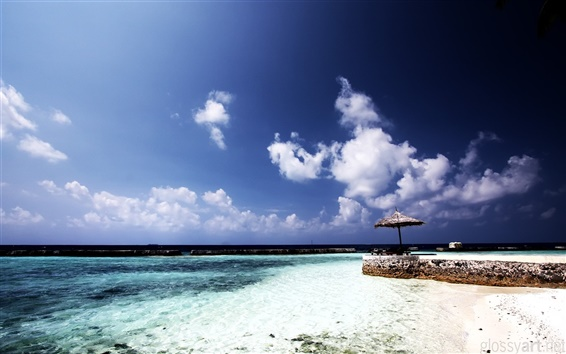 Wallpaper Chaaya reef beach