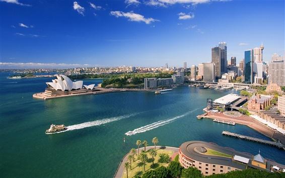 Papéis de Parede Centro de Sydney e Waterfront
