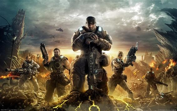 Обои Gears of War 3