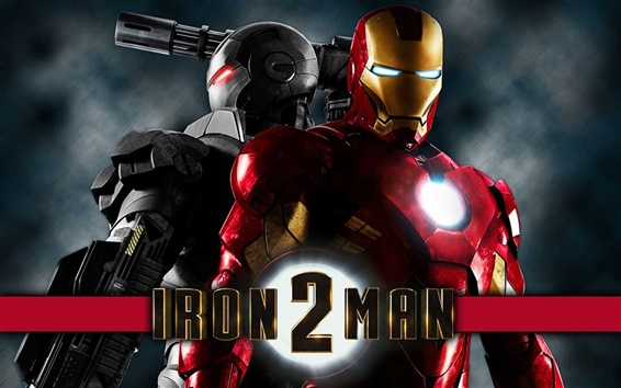 Wallpaper Iron Man 2