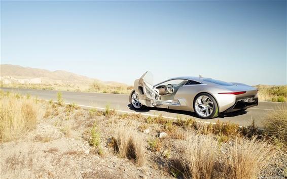 Papéis de Parede Jaguar C-X75 Concept 2010