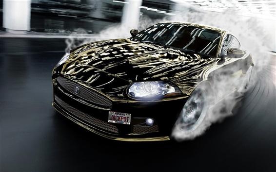 Обои Jaguar дрейф