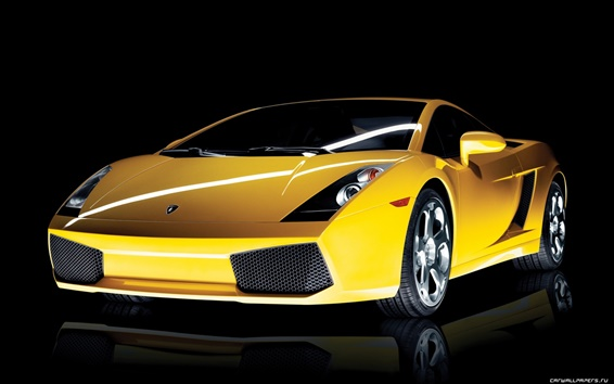 Wallpaper Lamborghini Gallardo 2003