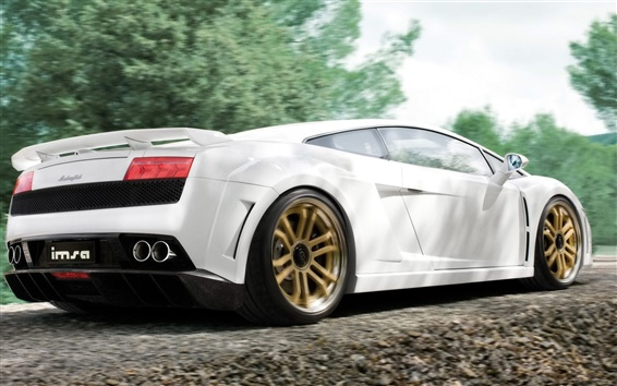 Wallpaper Lamborghini Gallardo LP560-4