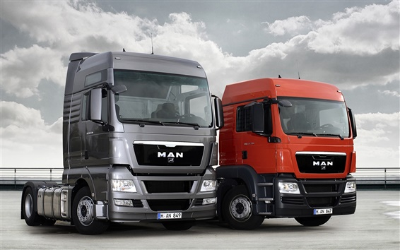 Wallpaper MAN 20TGX and 20TGS Trucks