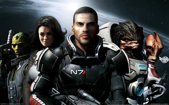 Wallpaper Mass Effect 2
