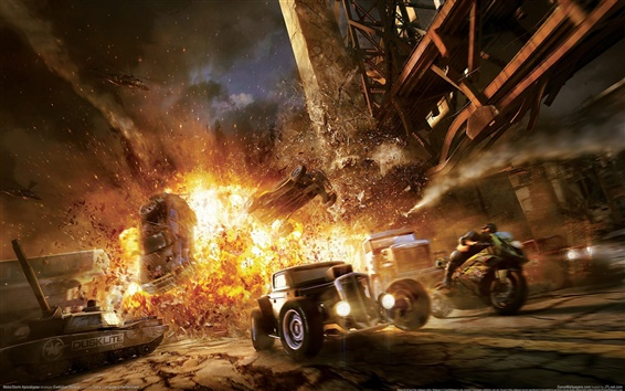 Wallpaper Motorstorm: Apocalypse
