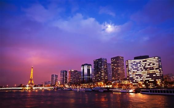 Fond d'écran nuits parisiennes