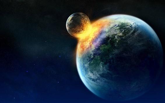 Wallpaper Planet spark