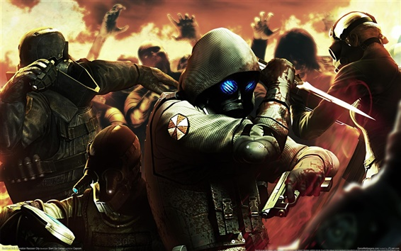 Hintergrundbilder Resident Evil: Operation Raccoon City