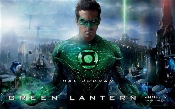 Wallpaper Ryan Reynolds in Green Lantern