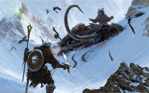 Papéis de Parede The Elder Scrolls V: Skyrim