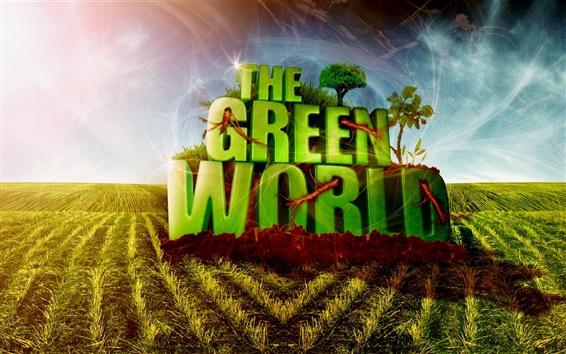 Обои Зеленый мир